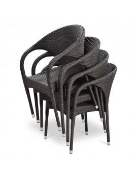 Стулья, кресла из искусственного ротанга