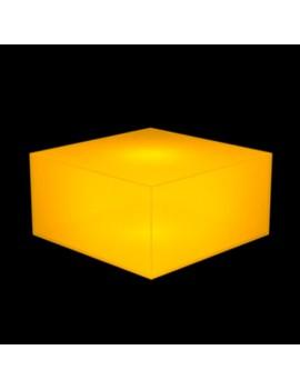 Банкетка Куб MRO C442 IN (светло-оранжевый)