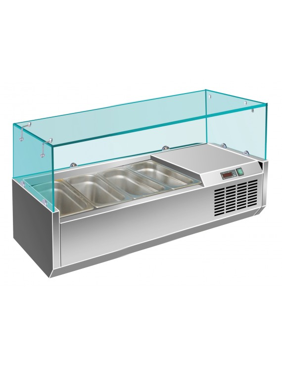 Витрина холодильная VIATTO VRX 1200/330