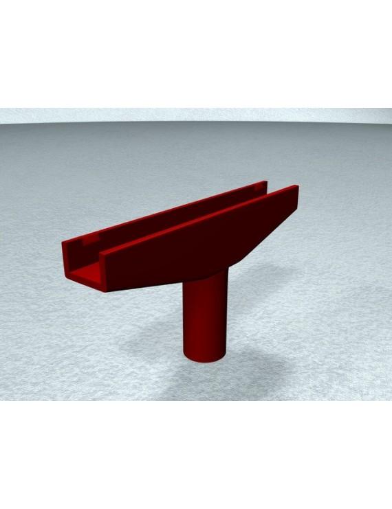 Держатель рамки Т HETA (SXT317RD (красный))