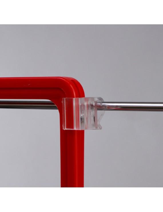 Рамка А4 красная с креплением на проволочную корзину