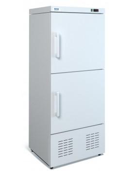 Шкаф холодильный комбинир.МХМ ШХК-400М (-13/0+7) (2 металл. дверь, статика)