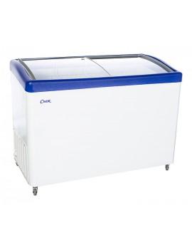 Ларь морозильный Снеж МЛГ-400 с гнутым стеклом (0...+10)
