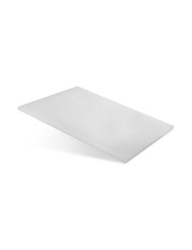 Доска разделочная 250х150х10 мм белый полипропилен