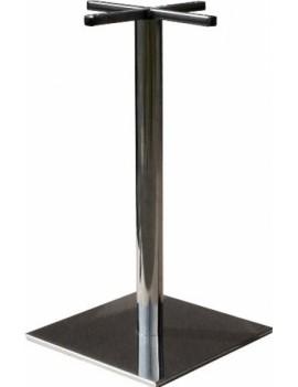 Подстолье «Фаворит-1» квадратное (сталь/хром)
