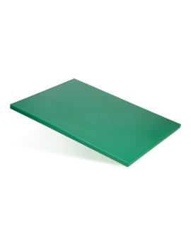 Доска разделочная 400х300х12 мм зеленый полипропилен