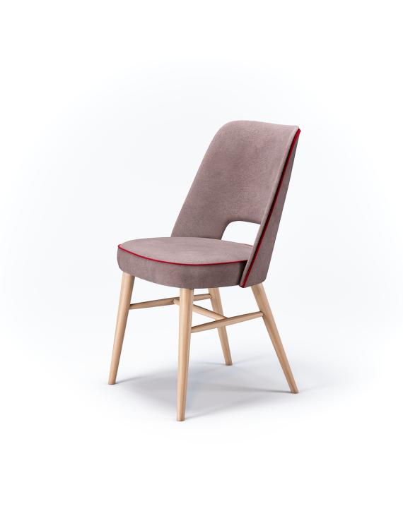 Стул CT-0042 с мягким сиденьем (деревянный каркас)