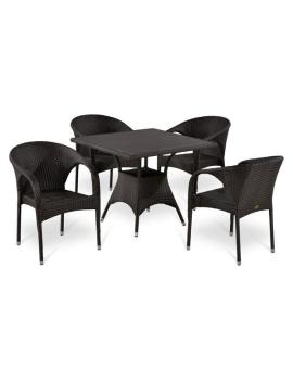 Комплект мебели «Бернардо-2» из искусственного ротанга