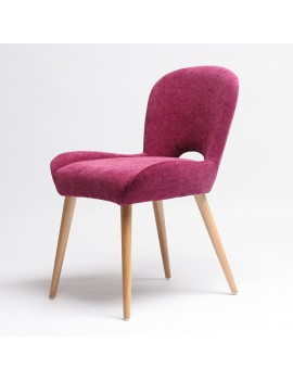 Стул «Aniva» с мягким сиденьем (деревянный каркас)