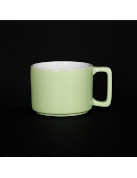 Кружка «Corone Caffetteria» 290 мл зеленый