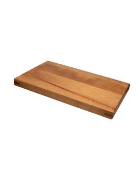 Доска разделочная с деревянными стяжками и шкантами 600х300х40 мм бук
