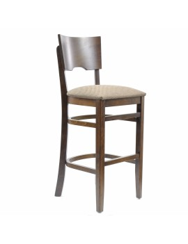 Стул барный «Йорк» с мягким сиденьем (деревянный каркас)
