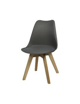 Стул «Eames W» с мягким сиденьем (деревянный каркас)