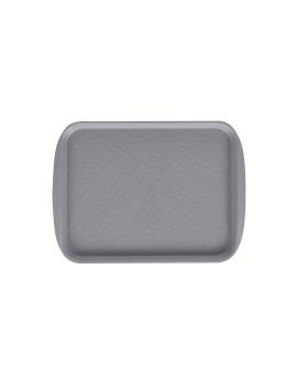 Поднос столовый 330х260 мм светло-серый