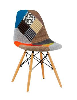 Стул «Eames пэчворк» с жестким сиденьем