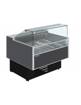 Витрина морозильная CRYSPI ВПН Sonata Quadro М 1200 LED (RAL 7016)