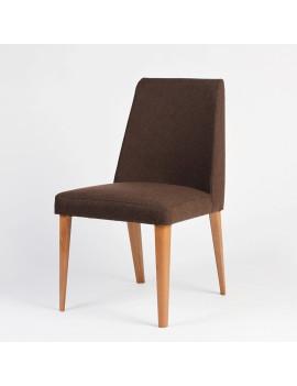 Стул LORA LC01 с мягким сиденьем (деревянный каркас)