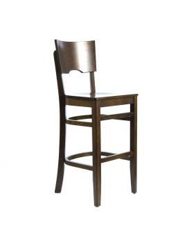 Стул барный «Йорк» с жестким сиденьем (деревянный каркас)