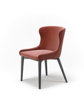 Стул «Vetro без прошивки» с мягким сиденьем