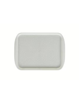 Поднос столовый 330х260 мм жемчужно-белый