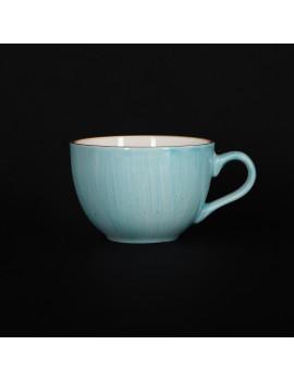 Чашка чайная 250 мл голубая «Corone Natura»