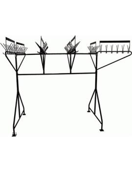 Вешалка гардеробная М163-01 (96 крючков на одном уровне)