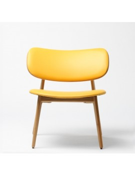 Стул «Coffee chair в обивке» с мягким сиденьем (деревянный каркас)