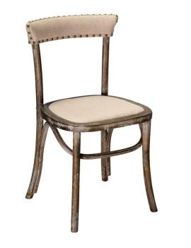 Стул «Мец» с мягким сиденьем (деревянный каркас)