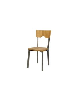 Стул «Дежавю» с жестким сиденьем (стальной каркас)