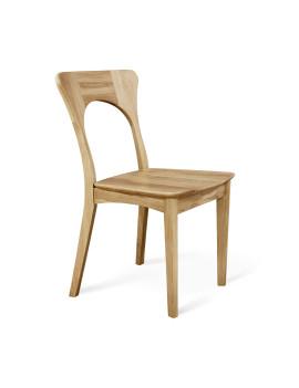 Стул «SHT-S63 ДУБ» с жестким сиденьем (деревянный каркас)