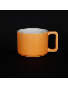 Кружка «Corone Caffetteria» 290 мл оранжевый
