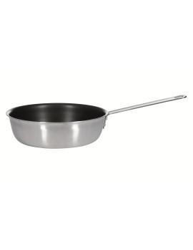 Сковорода Luxstahl 280/75 из нержавеющей стали с высокими бортами