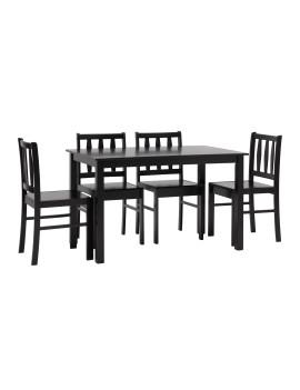 Обеденный комплект «Ибица» стол + 4 стула