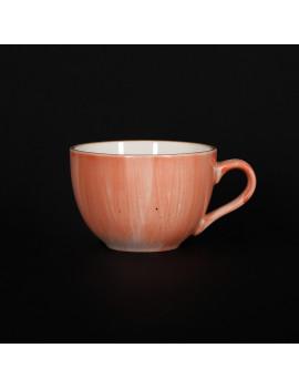 Чашка чайная 250 мл коралловая «Corone Natura»