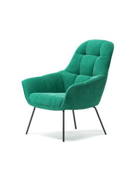 Кресло «Mantra» с мягким сиденьем (металлический каркас)