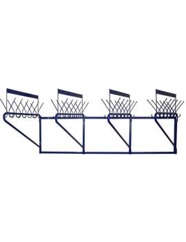 Вешалка гардеробная М163-02 (48 крючков на одном уровне)