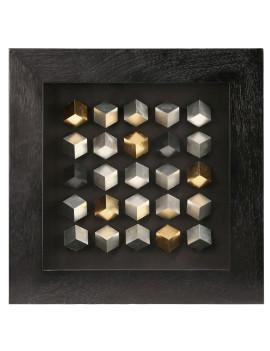 Панно «25 кубов»