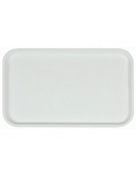 Поднос столовый из полипропилена 530x330 мм белый