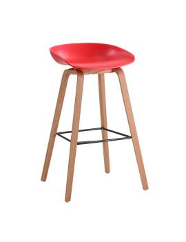 Стул барный «Лимбо» с жестким сиденьем (деревянный каркас)