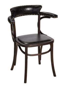 Кресло «Амьен» с мягким сиденьем (деревянный каркас)