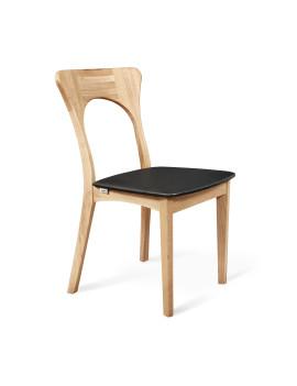 Стул «SHT-S63 БУК» с мягким сиденьем (деревянный каркас)