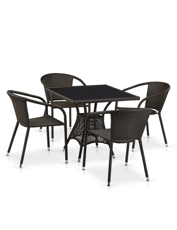 Комплект мебели «Бернадо-4» из искусственного ротанга
