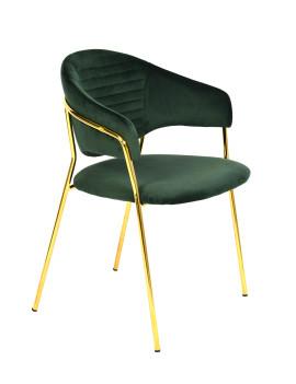 Стул «Энже» с мягким сиденьем (хромированный каркас)