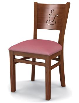 Стул «Бристоль» с мягким сиденьем (деревянный каркас)