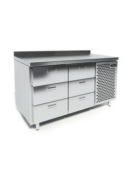 Стол охлаждаемый CRYSPI СШС-6,0 GN-1400