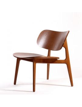 Стул «Coffee chair» с жестким сиденьем (деревянный каркас)