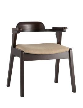 Стул «VINCENT» с мягким сиденьем (деревянный каркас)