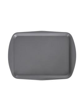 Поднос столовый 490х360 мм серый полипропилен