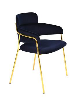 Стул «Паул» с мягким сиденьем (хромированный каркас)