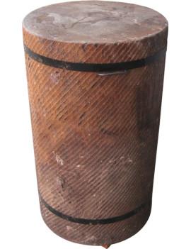 Колода разрубочная 550-650 мм на деревянных брусьях дуб Советский ГОСТ